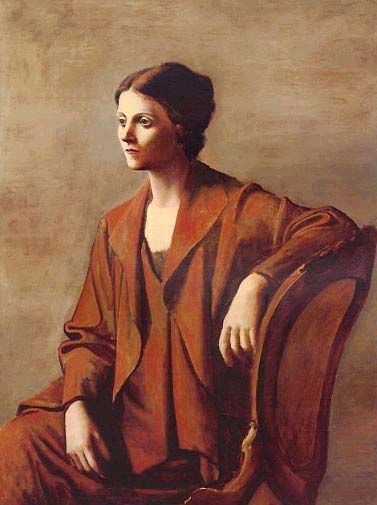 Image result for portrait of olga picasso