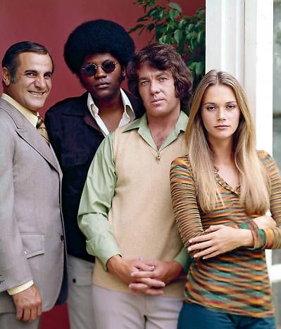 The Mod Squad - Tige Andrews, Clarence Williams III, Michael Cole and Peggy Lipton I don't remember episodes per se, but I recall it being action packed and cool. I remember the theme song. And I liked that it featured a woman, a Caucasian, and a Black guy. Yes I know they were actors but they seemed like they were suppose to be together.