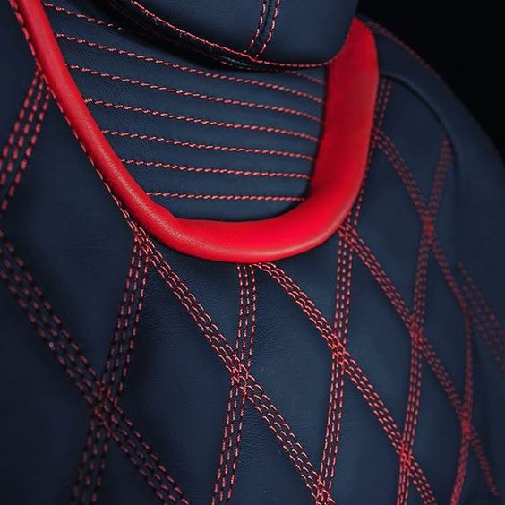 2005 Aston Martin Db9 Interior: Chevy Camaro Custom Interior Red And Black Interior Seats