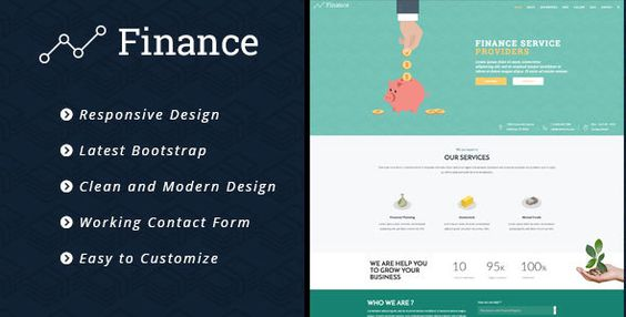 awesome Finance - Consulting Enterprise, Finance HTML5 Template (Enterprise)
