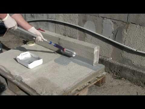 Etancheite Liquide Kemperol 2k Pur Exempte De Solvants Youtube Avec Images Etancheite Terrasse Terrasse Beton Etancheite