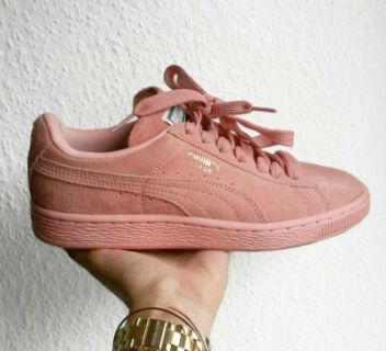 Puma Suede Platform Pink