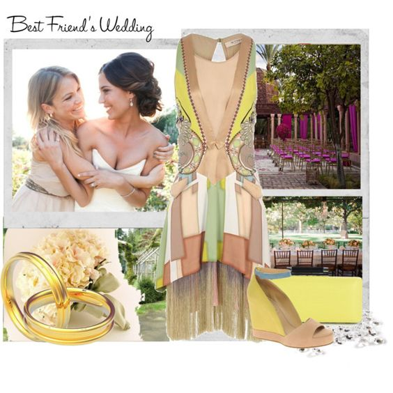 Your Best Friend's Wedding, created by lotoss on Polyvore