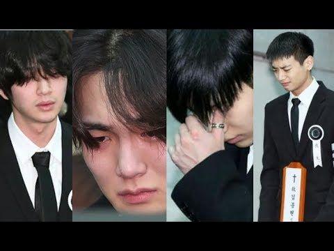 Celebrities Attend Shinee Jonghyun S Funeral Procession R I P Jonghyun Shinee Jonghyun Jonghyun Shinee