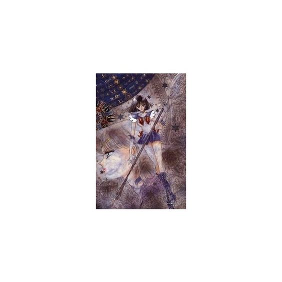 Sailor Saturn ❤ liked on Polyvore featuring sailor moon and sailor saturn