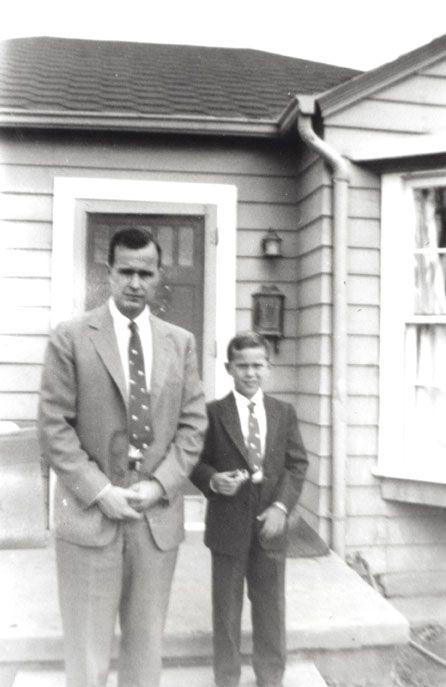 George H.W. and George W. Bush