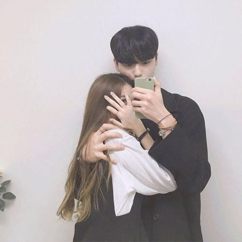 love, cute and couple image on We Heart It