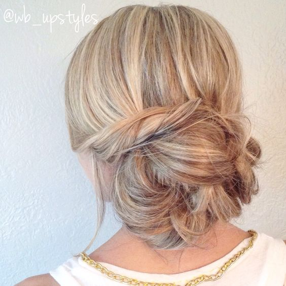 Terrific Hairstyle Wedding Cute Hairstyles And Messy Bun Updo On Pinterest Short Hairstyles For Black Women Fulllsitofus