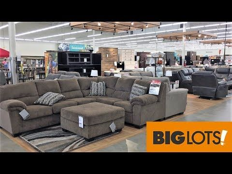 Big Lots Furniture Sofas Couches Armchairs Home Decor Shop With Me Shopping Store Walk Through 4k Youtube Big Lots Furniture Furniture Sofa Furniture Big lots living room decor