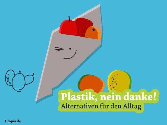 Plastik, nein danke - Alternativen im Alltag | Plastik, nein danke - Alternativen für den Alltag | Galerien | Utopia.de