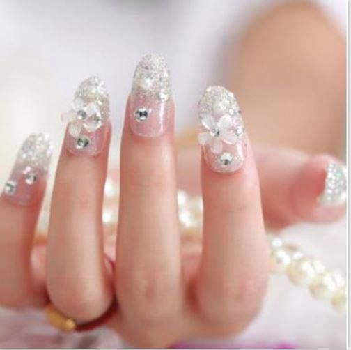 Latest Pearls Nail Art Designs For Engagement Kuku 3d Nailart Instagram