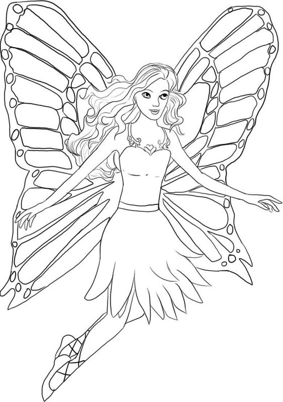 Barbie Halloween Coloring Pages : Barbie halloween coloring pages free large images