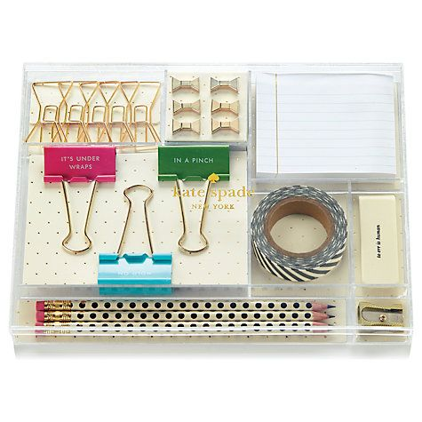 Kate Spade New York Tackle Box - Who said dealing with paperwork should be boring?