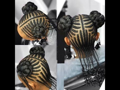 2018 Braids Styles For Kids Amazing Hairstyles For Lovely Little