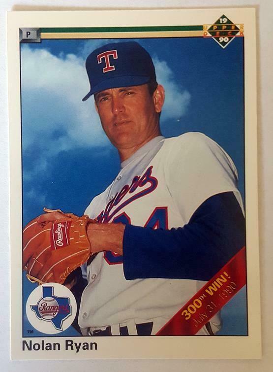 Pin By Book Collector On Baseball Texas Rangers Nolan Ryan Upper Deck Baseball Cards