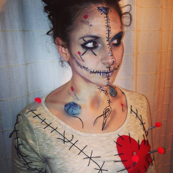 Doll Makeup Halloween Costumes And The Ou0026#39;jays On Pinterest