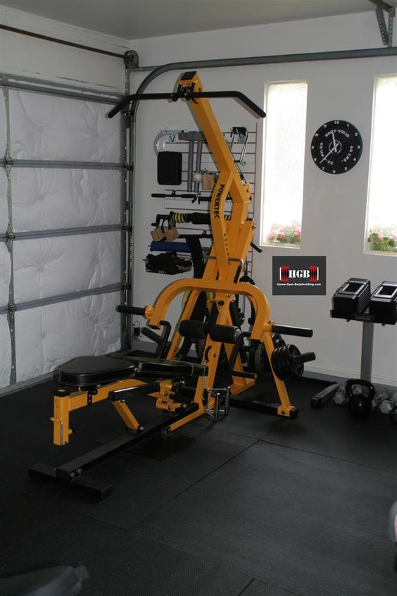 Learn how to convert your garage into a gym instructions