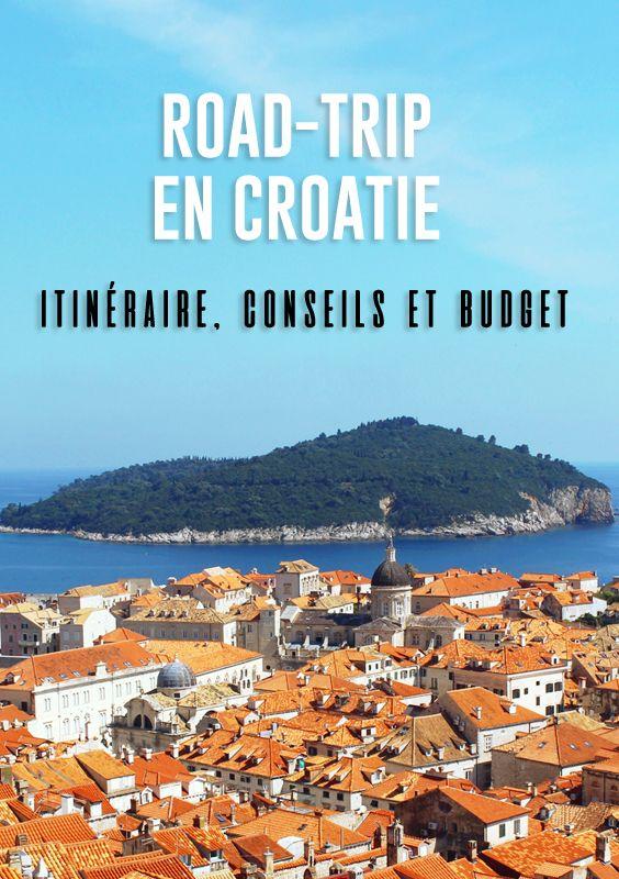 Sejour En Croatie Itineraire Conseils Et Budget Sundaystorms Voyage Blog Voyage Sejour Croatie Road Trip Croatie Croatie