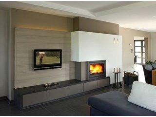 Inbouwhaard tv voorbeelden google zoeken interior - Mueble para chimenea electrica ...
