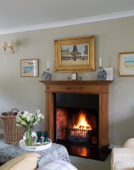 Traditional Living Room with Country Accents - The Room Edit