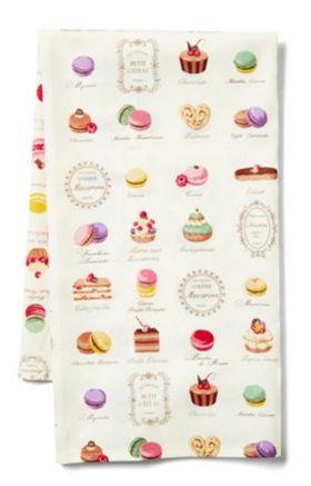 Love this macaron tea towel