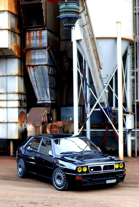Lancia Delta Integrale, one day, although prices are going up faster than my salary !!
