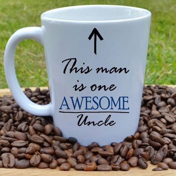 Awesome Uncle Gift Mug - £9 - This mug is a stunning gift for an awesome uncle, we all have one. They will love drinking their favourite brew from this amazing Uncle mug whilst thinking how awesome they are.