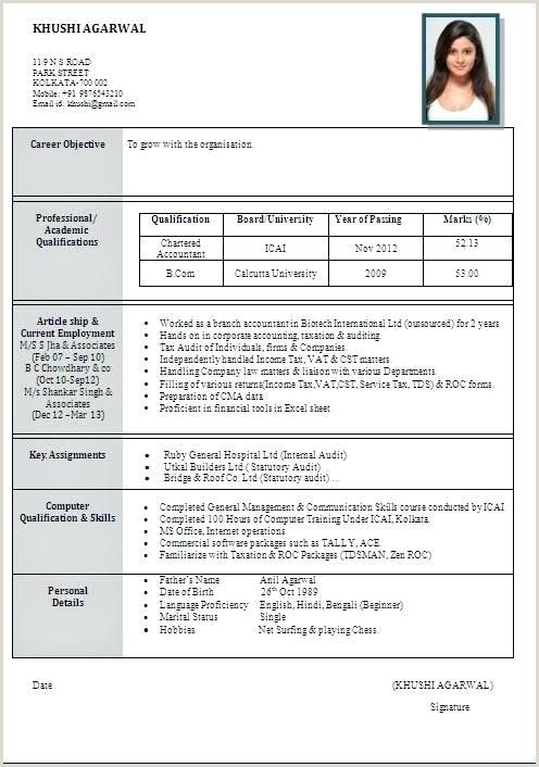 Fresher Resume Format For Bpo In 2020 Job Resume Format Resume Format Best Resume Format