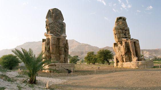 Los colosos de Memnón: