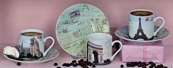 Kaffee-/Teezubehör - Shabby Chic und Landhaus Dekoration bei Cottage Deko