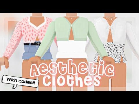 Aesthetic Roblox Id Codes Clothes Aesthetic Clothing Codes How To Enter Them Roblox Youtube In 2020 Diy Clothes Hacks Clothes Aesthetic Clothes
