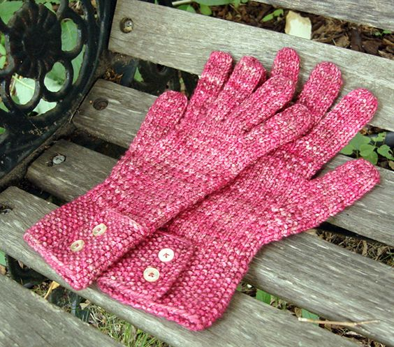 Free Knitting Patterns For Mittens In The Round : Free Knitting Pattern - Adult Gloves & Mittens: Ringwood Gloves Knittin...