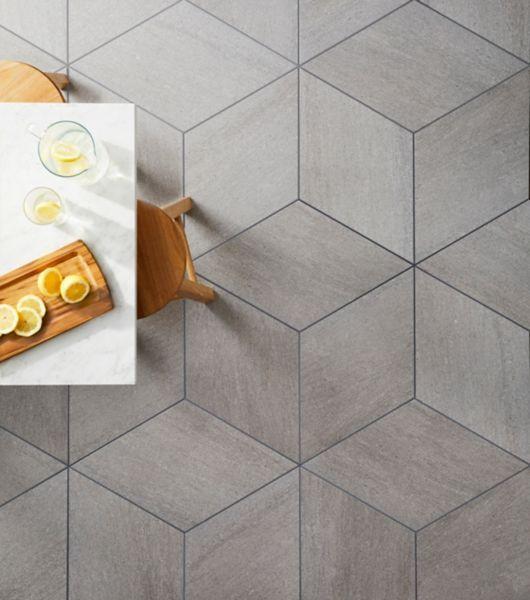Diamond Pattern Tile Kitchen Floor Flooring Porcelain Flooring Diamond Tile Floor