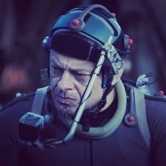 """Andy Serkis acting as Caesar in """"Planet of The Apes"""" franchise. Motion Capture"""