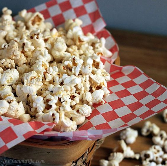 Homemade Microwave Popcorn. Only 130 calories for the serving I made ...