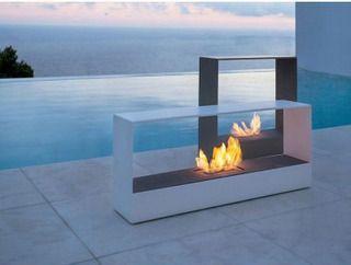 Llar Burner Modern Outdoor Fireplace Freestanding Fireplace Outdoor Gas Fireplace
