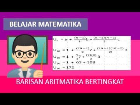 Soal Barisan Aritmatika Bertingkat Belajar Matematika