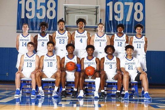 2019 20 Men S Basketball Roster University Of Kentucky Athletics Kentucky Wildcats Kentucky Basketball Wild Cats