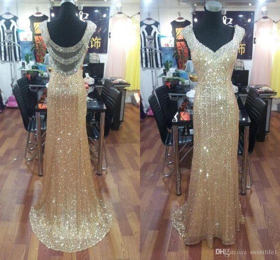 bling-gold-sequined-mermaid-prom-dresses