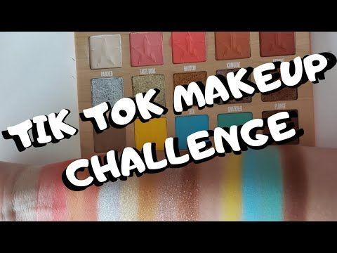 Tik Tok Makeup Challenge Youtube Makeup Challenges Tik Tok Makeup