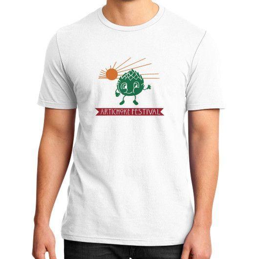 Castroville Artichoke Festival District T-Shirt (on man)