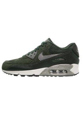 Nike Sportswear AIR MAX 90 - Tenis��wki i Trampki - carbon green/metallic pewter za 579 z? (12.12.15) zam��w bezp?atnie na Zalando.pl.