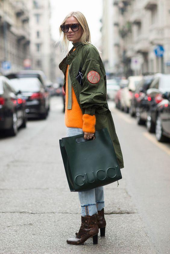 Milan Fashion Week Street Style Fall 2016 | POPSUGAR Fashion