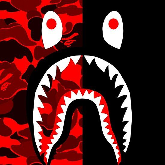 Red Black Grapic Bape Wallpapers Red And Black Wallpaper Bape Wallpaper Iphone Beautiful red bape wallpaper for iphone