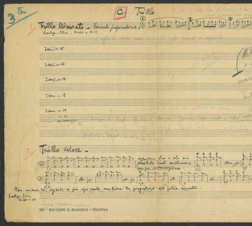 [Vademecum] Trillo [Luigi Silva Personal Papers] :: Cello Music Collections
