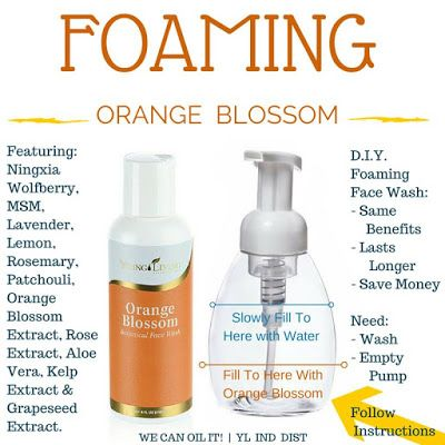 Must Have Monday: Orange Blossom Botanical Face Wash: