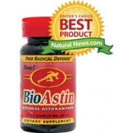 BioAstin Astaxanthine (extract uit de alg Haematococcus pluvialis) van Hawaii.    Astaxanthine : super anti-oxidant, verlicht artritis pijn, gewrichtspijn, pijnlijke spieren en beschermt tegen hart-en vaatziekten.