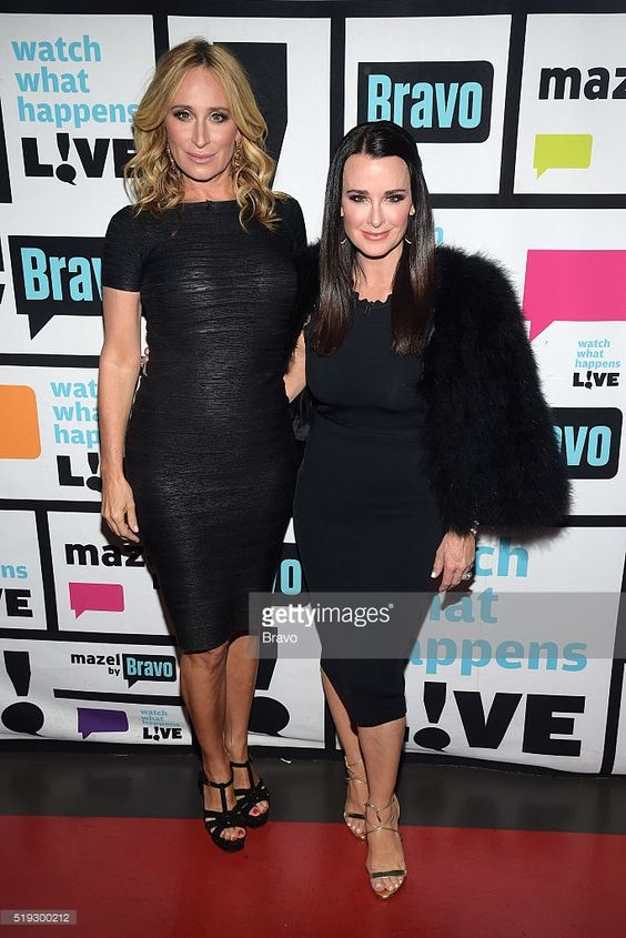 Sonja Morgan and Kyle Richards --