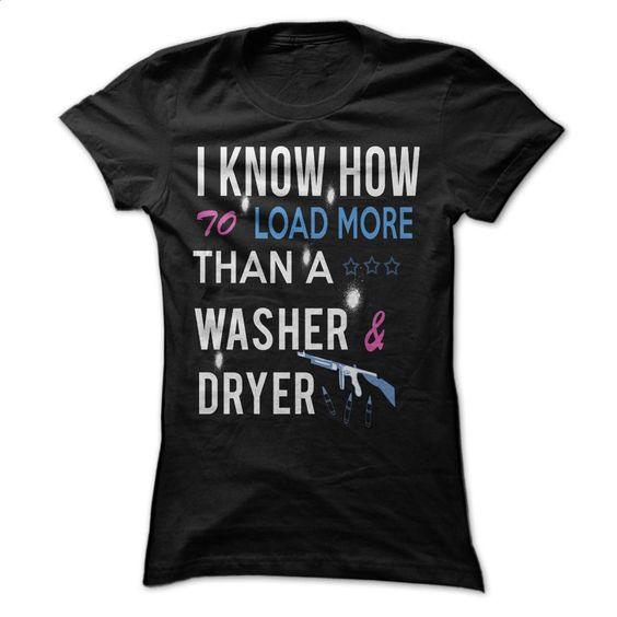 Washer & Dryer T Shirts, Hoodies, Sweatshirts - #blue hoodie #cotton shirts. CHECK PRICE => https://www.sunfrog.com/Funny/Washer-amp-Dryer-Ladies.html?id=60505