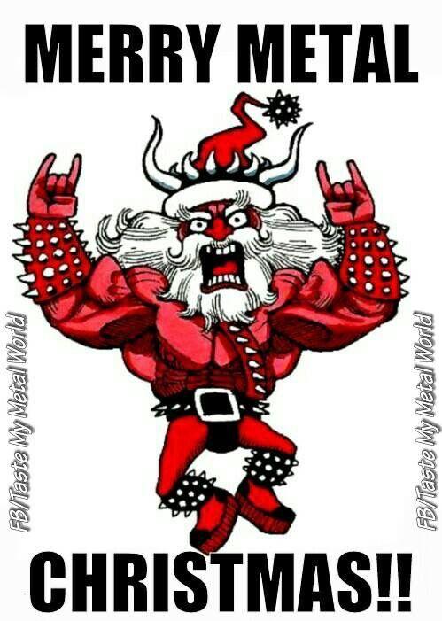 Merry Metal Christmas 🎄